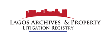 LAGOS ARCHIVES AND PROPERTY LITIGATION REGISTRY LIMITED